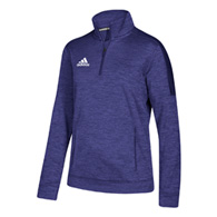 adidas team issue women's 1/4 zip