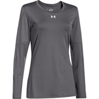 ua block party l/s women's jersey
