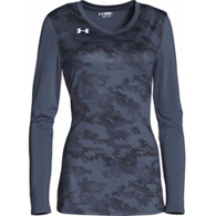 ua ultimate spike printed l/s jersey