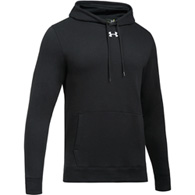 ua hustle fleece men's hoody
