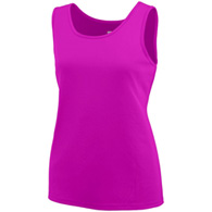 augusta solid girls singlet