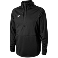 asics tricot warm-up 1/2 zip