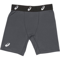 asics stock compression short