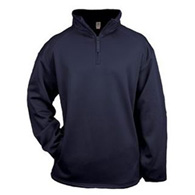 badger 1/4 zip poly fleece yth pullover