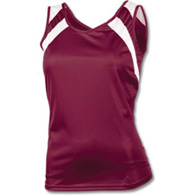 women's wicking tank w/ shoulder panel