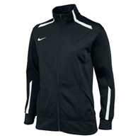 nike overtime women's warm up jacket