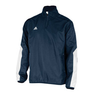adidas team woven 1/4 zip men's