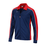 speedo youth streamline warm up jacket