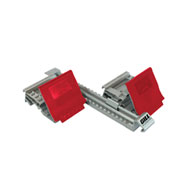 gill fusion i starting block - red