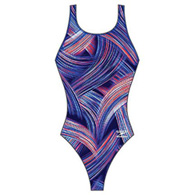 speedo turbo stroke girls's drop back