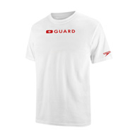 speedo male guard crew neck t
