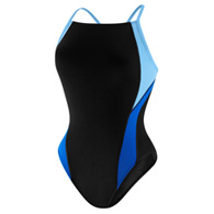 speedo launch splice female cross back