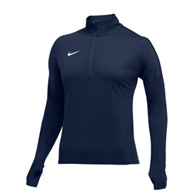 nike dry element women's 1/2 zip