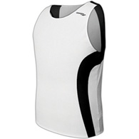saucony hyperlite men's singlet - white