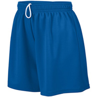 augusta wicking ladies mesh short