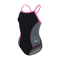 dolfin team panel female v-2 back