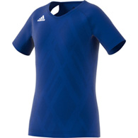 adidas quickset cap sleeve youth jersey