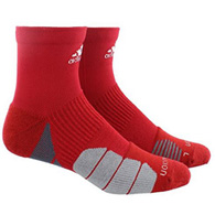 adidas traxion menace high quarter socks