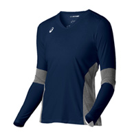 asics decoy long sleeve jersey