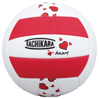 tachikara heart print volleyball