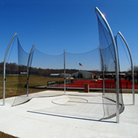 aae high school discus cage