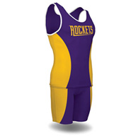 hourglass comp. men's singlet (custom)