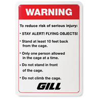 gill warning sign