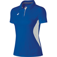asics women's corp polo