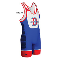 cliff keen sublimated singlet style 55