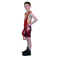 cliff keen low cut sublimated singlet