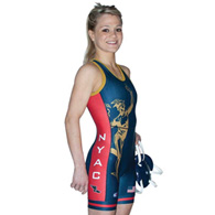 cliff keen sublimated singlet