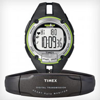 timex ironman road trainer w/ heart-rate