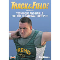 technique & drills: rotational shot put
