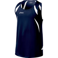 asics men's interval singlet