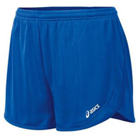 asics rival ii 1/2 split women's short
