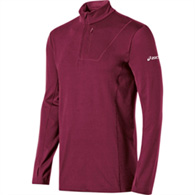 asics tm men's 1/2 zip